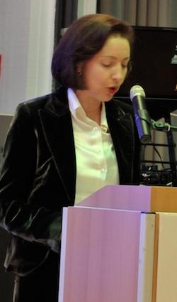 Die Generalkonsulin von Griechenland in Frankfurt, Frau E. Kakiopoulou