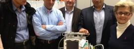 Ο Πρόεδρος του ΙΣΑ Γ.Πατούλης με τον Πρόεδρο των Ελλήνων Επιστημόνων Φραγκφούρτης καρδιολόγο Κ.Γκιόκογλου, τον αντιπρόεδρο κ.Φλώκο και τους εθελοντές του Ιατρείου Κοινωνικής Αποστολής Ε.Μελιάδου Παιδίατρο και Π.Κοτιλέα Καρδιολόγο